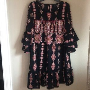 Reduced Lux II peasant style dress NWT